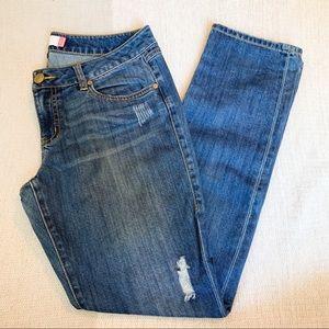 Cabi Mojave Slim Boyfriend Jeans
